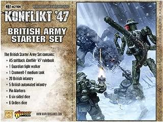 Konflikt'47 Warlord Games, British Starter Set, Wargaming Miniatures