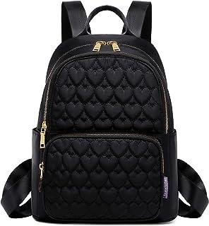Travistar Rucksack Damen klein Schultasche Nylon Casual Daypack Rucksackhandtaschen Damen Rucksack Kleiner Elegant Wasserd...