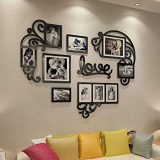 CrazyDeal Collage Picture Frames 3D DIY Wall Decals Decor Art Stickers Pictures Decorations for Living Room Bedroom Kids D...