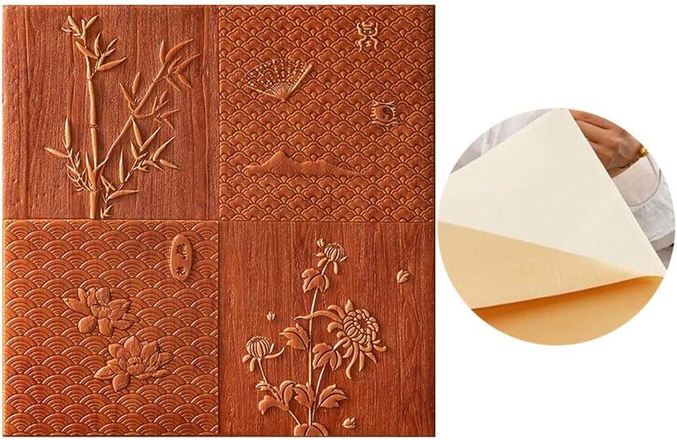 ZHANWEI 3D Don't miss the campaign Wall Panels Wallpaper Max 67% OFF Self-Adhesive B Waterproof Foam
