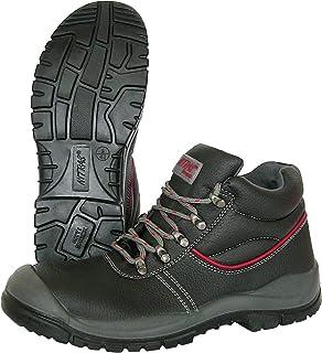 NITRAS 7201 Step II Bottes de Travail - Chaussures de sécurité S3 pour Hommes et Femmes - Botte en Acier résistant à l'eau...