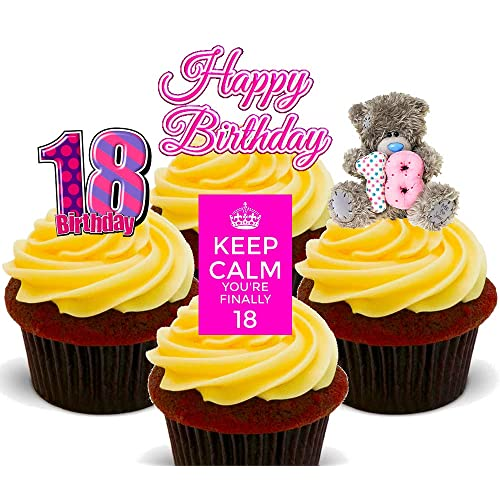 Super 18Th Birthday Cakes For Girls Amazon Co Uk Funny Birthday Cards Online Fluifree Goldxyz