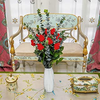 YATAI Artificial Rose Flowers Real Looking Fake Roses with Stem for Valentine DIY Wedding Bouquets Centerpieces Party Baby...