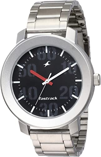 Fastrack Casual Analog Black Dial Men's Watch NM3121SM02 / NL3121SM02