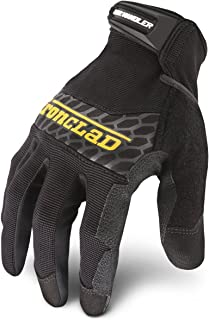 Ironclad Box Handler Work Gloves BHG, Extreme Grip, Performance Fit, Durable, Machine..