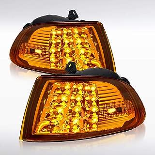 Autozensation For Honda Civic 2Dr/3Dr EG EH LED Amber Corner Turn Signal Lights Pair