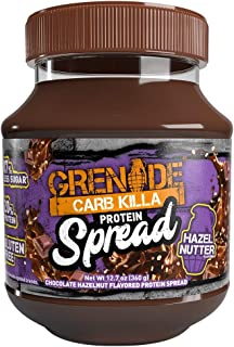 Grenade Carb Killa Protein Chocolate Spread | 7g High Protein Hazelnut Snack | High Protein Low Sugar | Gluten Free No Sti...
