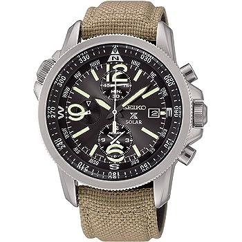 [セイコー]SEIKO PROSPEX ソーラー ミリタリー クロノグラフ メーカー純正箱入り 100m防水 SSC293P1 メンズ 腕時計 [並行輸入品]