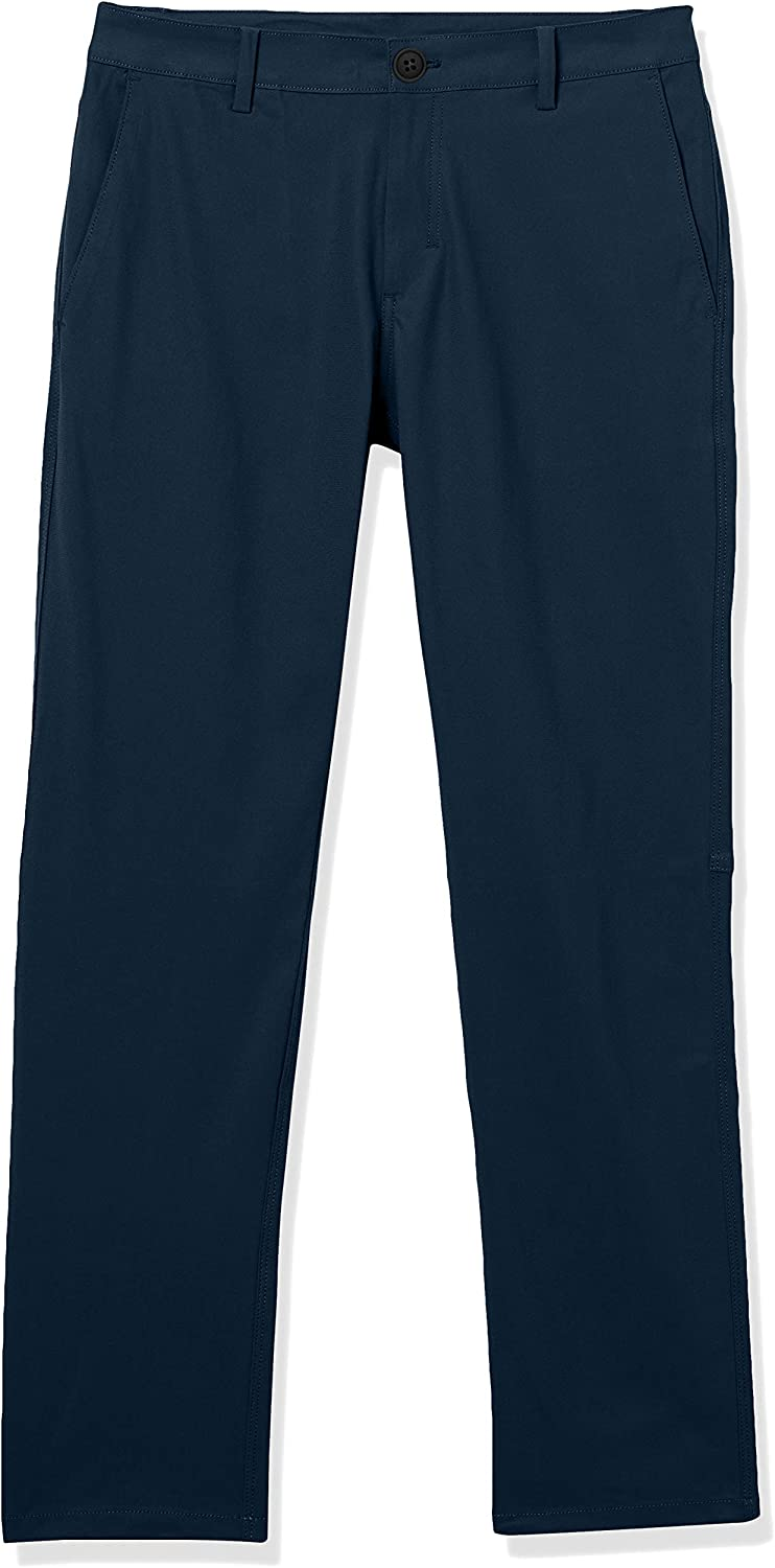 Marque Amazon - Peak Velocity Travel Pant - pants - Homme Bleu Marine