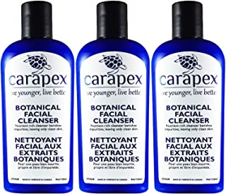 Carapex Botanical Facial Cleanser, for Sensitive, Dry, Oily, Combination, Aging or Acne Prone Skin, to Remove Makeup, Gent...