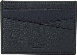 Firenze Muflone Flat Card Case, Contrast Color
