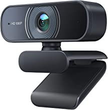 Victure Webcam with Dual Microphones, 1080P Full HD Streaming Webcam for PC, MAC, Desktop & Laptop, Plug and Play USB Came...
