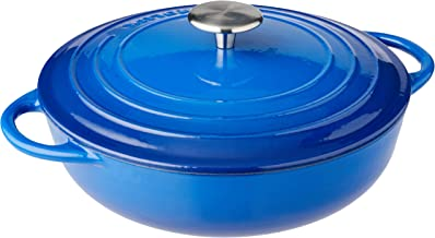 Pyrolux Cast Iron Chef Pan, Blue, 11795