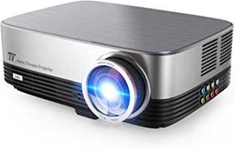 TaoTronics Video Projector 1080P LED Home Theater Projector 3500 Lumens 200in Support HDMI VGA AV USB for Movie Business Gaming (Renewed)