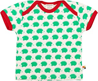 Loud + Proud Unisex Baby T-Shirt with Animal Print 204