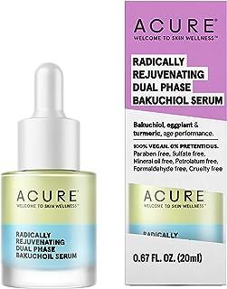 Acure Radically Rejuvenating Dual Phase Bakuchiol Serum | 100% Vegan | Provides Anti-Aging Support | Bakuchiol, Eggplant &...
