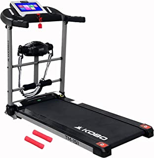"""Kobo Fitness 1.5 H.P 10.1"""" TFT Touch Screen Motorized Treadmill with Massager, Free Installation Assistance, Home Use Jogg..."""