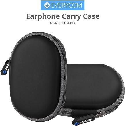 Everycom Mini Earphones Pocket Storage Carry Case with Metal Zip Runner
