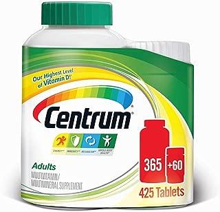 Best centrum adults 425 tablets Reviews