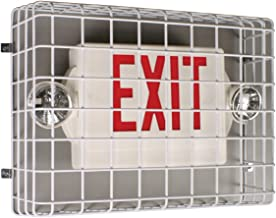 Safety Technology International, Inc. STI-9740 Exit Sign Damage Stopper, Protective Coated Steel Wire Guard