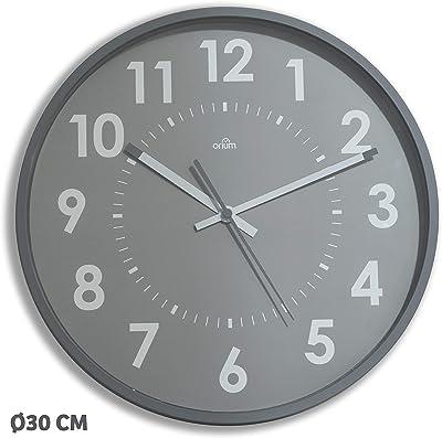 Orium Silent Clock 30 cm, Grey