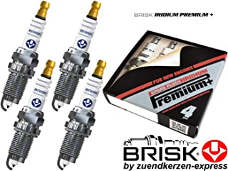 BRISK Iridium Premium 6 piezas Plus P4 1622 Buj/ías de Encendido