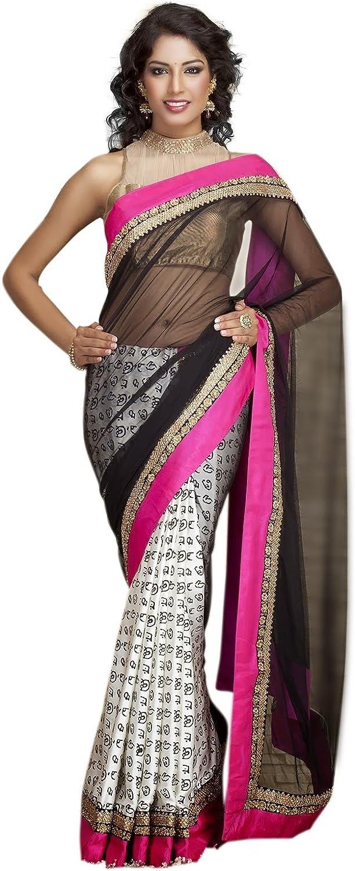 Rajshri Fashions Women's Bhagalpuri Silk Saree