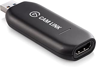 Elgato Cam Link - Broadcast Live Record via DSLR, Camcorder Action cam, Compact HDMI Capture Device, USB 3.0 Up to 1080P 1...
