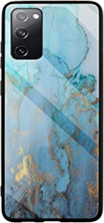 MOONCASE Galaxy S20 FE/S20 Lite Case, Hybrid Shockproof Soft TPU Tempered Glass Back Cover Ultra thin Protective Phone Cas...