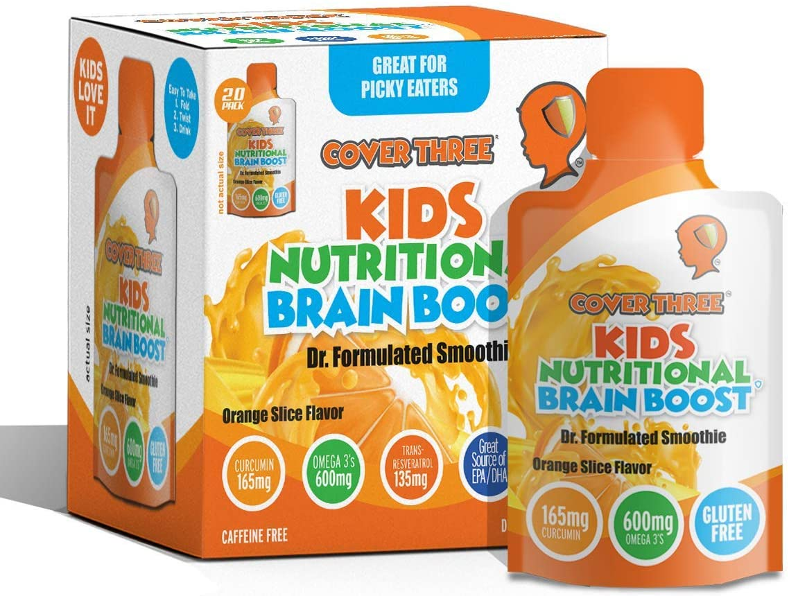 Kids Nutritional Detroit Mall Limited Special Price Brain Supplement- Boost Child Ca Focus Memory