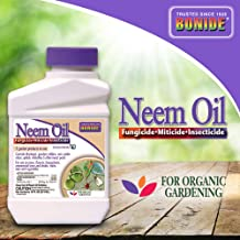 Bonide (BND024) - Neem Oil Concentrate, Insect Pesticide for Organic Gardening (16 oz.)