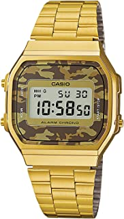 Casio Collection Unisex Adults Watch A168WEGC