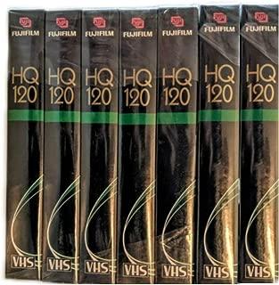 Fuji HQ T-120 VHS Video Cassette 7 Pack (Discontinued by Manufacturer)