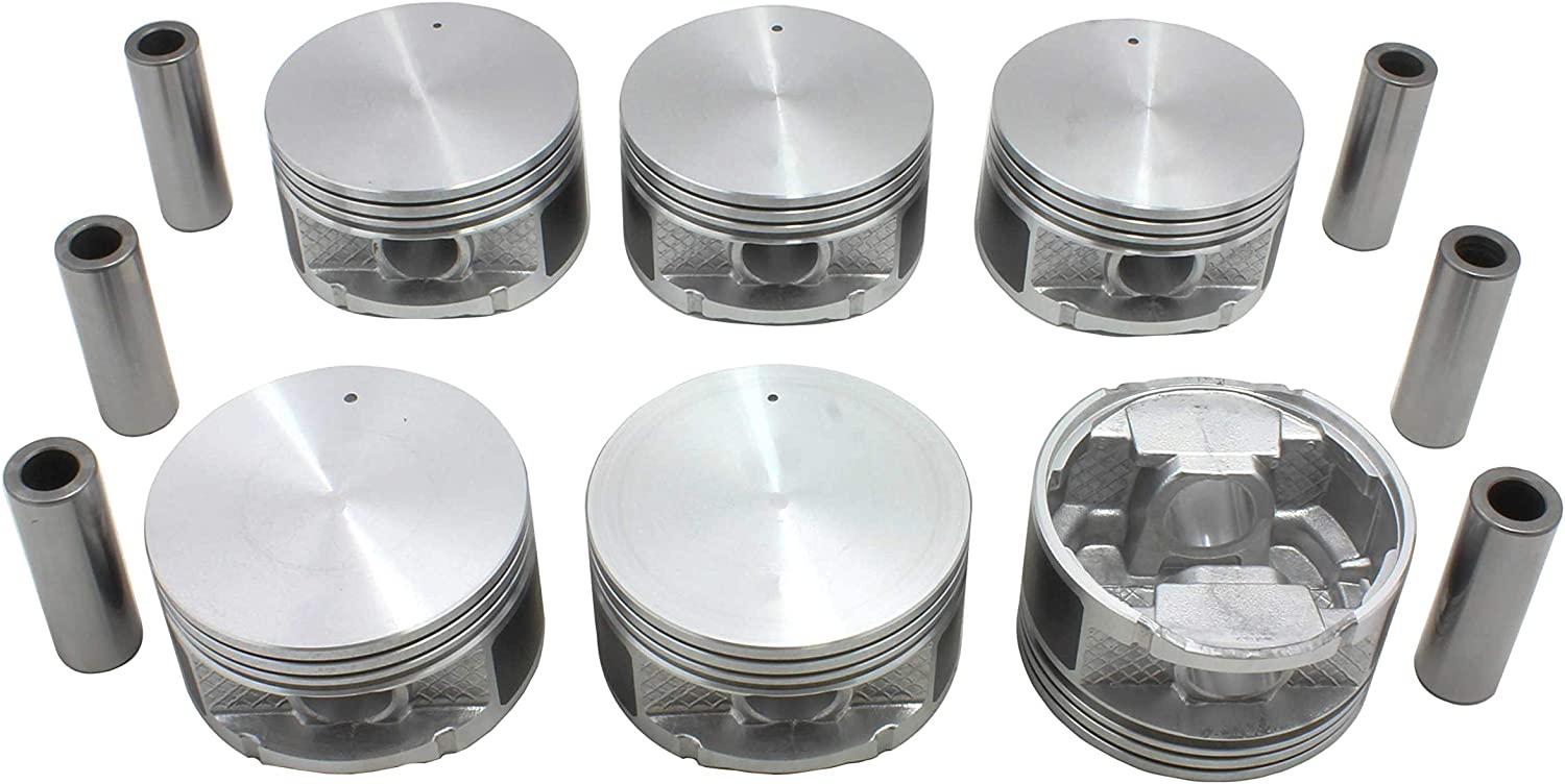 Plymouth//Caravan New Yorker Grand Voyager Imperial Voyager Jeep Concorde Intrepid Pacifica Town /& Country Dodge DNJ PR1107.20 OVersize Piston Rings//For 1991-2011// Chrysler Grand Caravan
