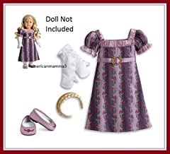 american girl caroline holiday