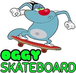 Oggy Skateboard