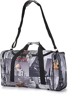 Carry On Lightweight Hand Luggage Flight Holdall Duffel Sports Gym Bag