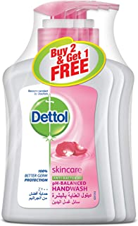 Dettol Skincare Handwash - Pack of 3 Pieces (3 x 200 ml)