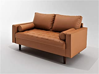 Best dark brown leather sofa and loveseat Reviews