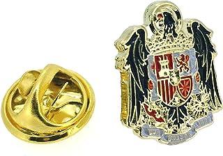 Gemelolandia - Pin de Solapa Águila de San Juan | Artículo Decorativo para Chaquetas Elegantes y Trajes | Condecoración | ...