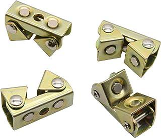 "Magnetic V-Pads Kit,Strong Hand Tools,Pipe Magnets,4 PCS Kit (XFV4: 2 pcs. 2.2"", Pull Force 18 lbs),(XDV4: 2 pcs. 2"", Pull..."