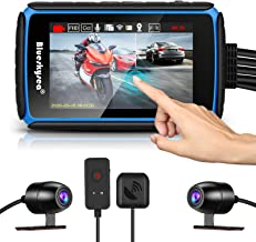 Motorcycle Dashcam Camera, Blueskysea DV988 1080p 30fps Dual Wide Angle 140 Degree Lens..