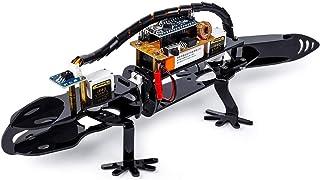 Arduino Robot Kit Bionic Programmable - SunFounder DIY Robot Lizard Visual Programming for Beginners STEM Education IR Rec...
