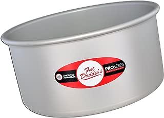 Fat Daddio's PRD-64 Round Cake Pan, 6 x 4 Inch, Silver