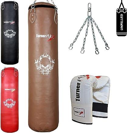 TurnerMAX TurnerMAX TurnerMAX Boxen Boxsack Muay Thai Ausbildung MMA Kampfkünste Boxsack Mitts mit Kette (Ungefüllt) B07H1D1H9K     | Vollständige Spezifikation  11bcee