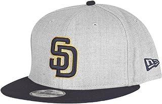 ニューエラ (New Era) 9フィフティ スナップバック キャップ - ヘザー San Diego Padres グレー