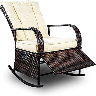 Best outdoor wicker rocking chairs Reviews