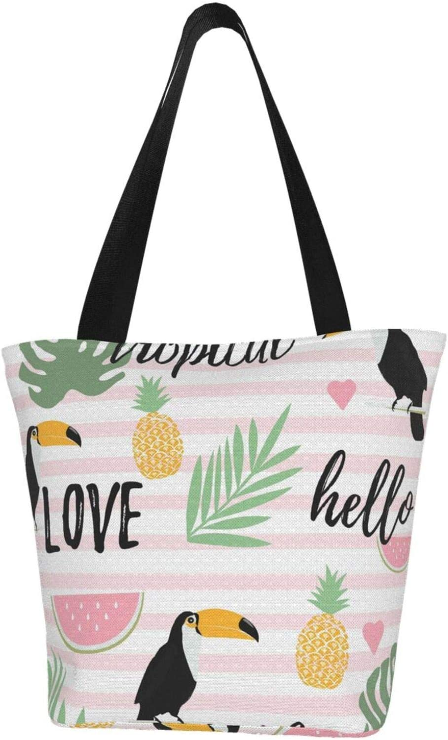 AKLID Watermelon Toucan Sale with Stripes Daily bargain sale R Large Water Pattern Extra