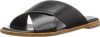 L.K. Bennett Women's Elianna Slide Sandal Black SHO 35 M EU (5 US)