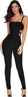 Meilun Women's Bandage Jumpsuit Bodysuit Bodycon Romper Pants